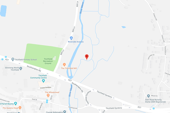 Titchfield Primary School Map